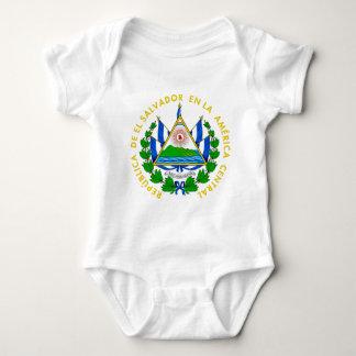 エルサルバドルの紋章付き外衣 ベビーボディスーツ