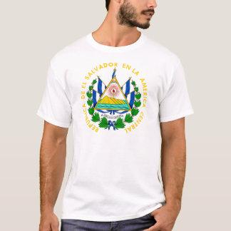 エルサルバドルの紋章付き外衣 Tシャツ