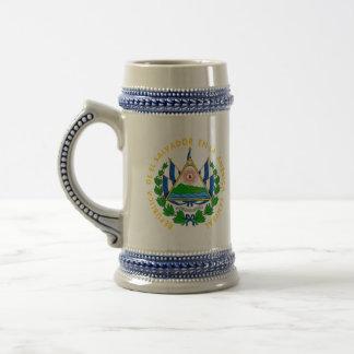 エルサルバドルの紋章 ビールジョッキ