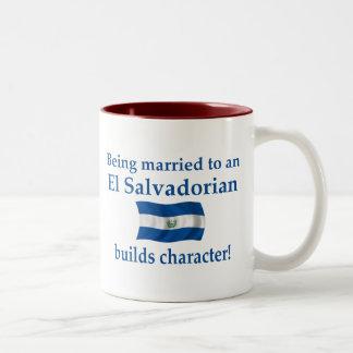 エルサルバドルはキャラクターを造ります ツートーンマグカップ