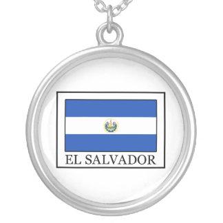 エルサルバドル シルバープレートネックレス