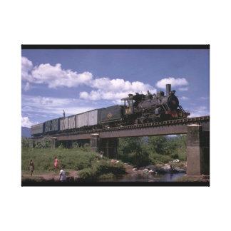 エルサルバドル、世界のFc De ES 2-8-0_Trains キャンバスプリント