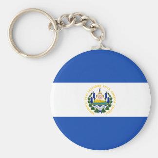 エルサルバドル- Bandera deエルサルバドルの旗 キーホルダー