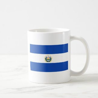 エルサルバドル- Bandera deエルサルバドルの旗 コーヒーマグカップ