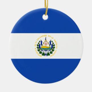 エルサルバドル- Bandera deエルサルバドルの旗 セラミックオーナメント