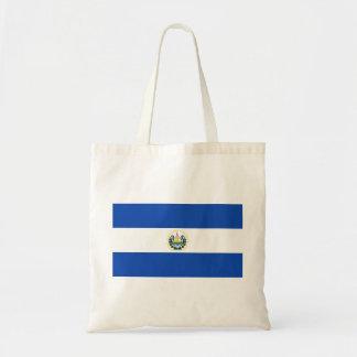 エルサルバドル- Bandera deエルサルバドルの旗 トートバッグ
