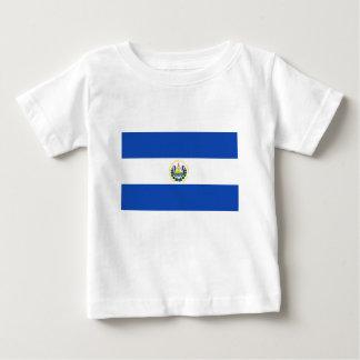 エルサルバドル- Bandera deエルサルバドルの旗 ベビーTシャツ