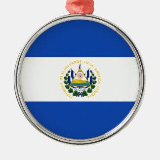 エルサルバドル- Bandera deエルサルバドルの旗 メタルオーナメント
