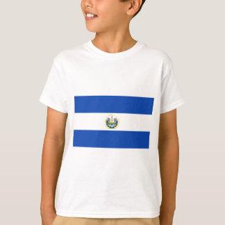 エルサルバドル- Bandera deエルサルバドルの旗 Tシャツ