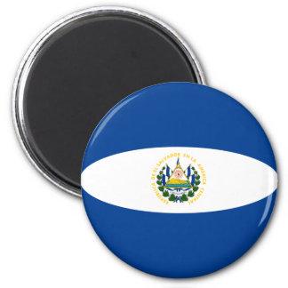 エルサルバドルFisheyeの旗の磁石 マグネット