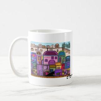 エルサレムのタペストリーのマグ コーヒーマグカップ