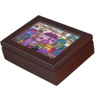 エルサレムのタペストリーの記念品箱 ジュエリーボックス