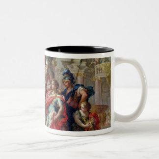 エルサレムの寺院のアレキサンダー大王 ツートーンマグカップ