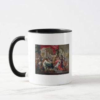 エルサレムの寺院のアレキサンダー大王 マグカップ