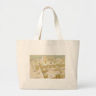 エルサレムの寺院 ラージトートバッグ