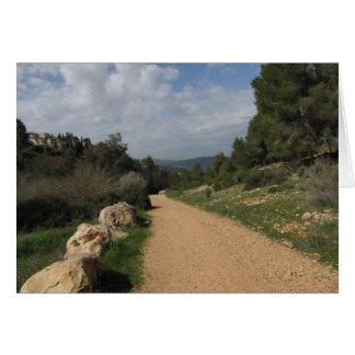 エルサレムの景色 カード