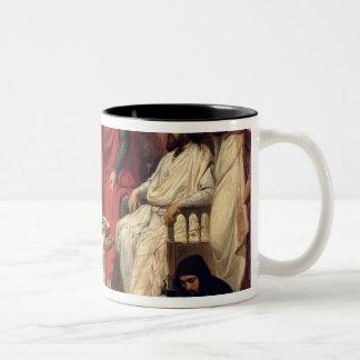 エルサレムの聖ヨハネの等級の騎士 ツートーンマグカップ