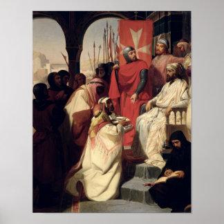 エルサレムの聖ヨハネの等級の騎士 ポスター