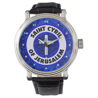 エルサレムの聖者シリル 腕時計