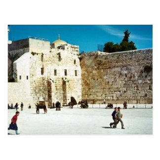 エルサレムの西部の壁 ポストカード