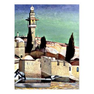エルサレムのMount of Olives ポストカード