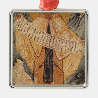 エルサレムのSt. Sabas、1572年のアイコン メタルオーナメント