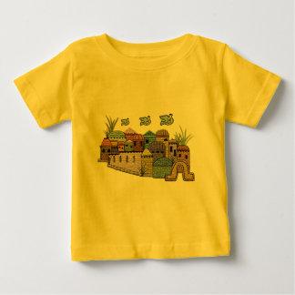 エルサレム上の平和 ベビーTシャツ