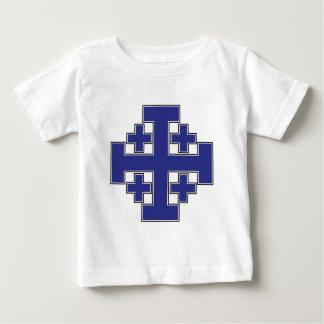 エルサレム十字の青 ベビーTシャツ
