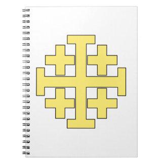 エルサレム十字 ノートブック