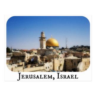 エルサレム、イスラエル共和国の郵便はがき ポストカード