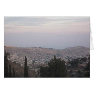 エルサレム カード