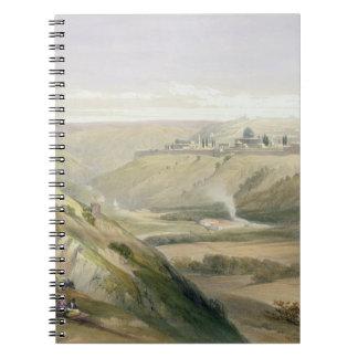 エルサレム、1839年は4月5日、容積Iからの18をめっきします ノートブック