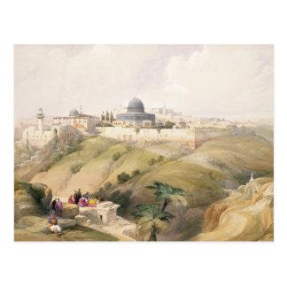 エルサレム、1839年は4月9日、容積Iからの16をめっきします ポストカード