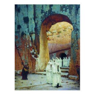 エルサレム。 Vasily Vereshchagin著王室のな墓 ポストカード