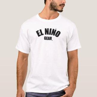 エルニーニョ現象のギア Tシャツ