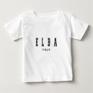 エルバ島イタリア ベビーTシャツ