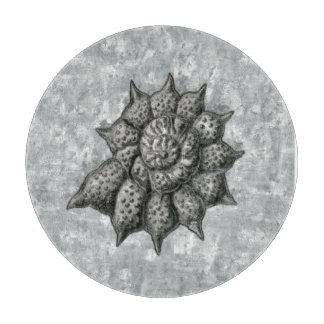 エルンスト・ヘッケルのRadiolariaの貝1 カッティングボード