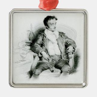 エルンストTheodor Amadeus Hoffmann メタルオーナメント