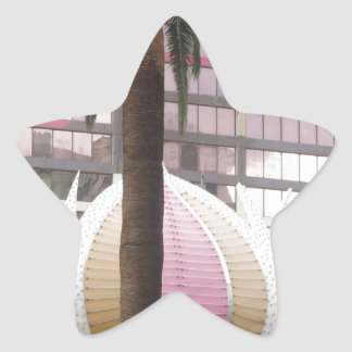 エレガントでカラフルなはす壁の彫刻プラスター 星シール