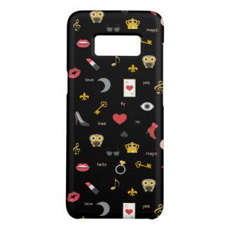 エレガントでスタイリッシュなキス、唇、ハート、フクロウ、ノート Case-Mate SAMSUNG GALAXY S8ケース