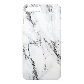 エレガントで白い大理石の石2 iPhone 7 PLUSケース
