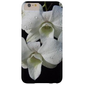 エレガントで白い蘭の花柄の写真 BARELY THERE iPhone 6 PLUS ケース