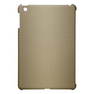 エレガントで自然な茶色のpern iPad mini カバー