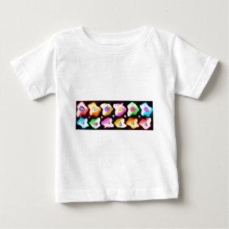 エレガントで装飾的なストリップ: 低価格芸術NAVIN JOSHI ベビーTシャツ