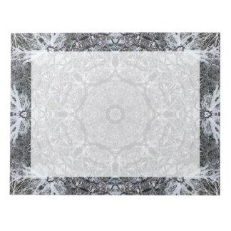 エレガントで装飾的なパターン ノートパッド