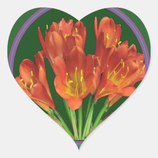 エレガントで赤い花の花花束100のギフト ハートシール