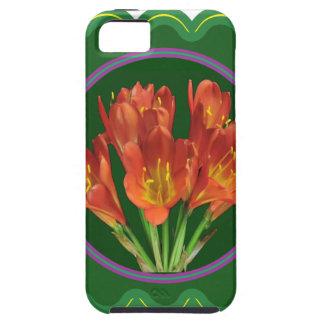 エレガントで赤い花の花花束100のギフト iPhone SE/5/5s ケース