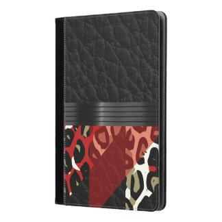 エレガントで赤く黒いチータ iPad AIRケース