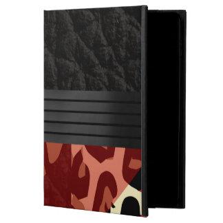 エレガントで赤く黒いチータ POWIS iPad AIR 2 ケース