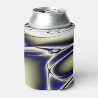 エレガントで青いフラクタル 缶クーラー